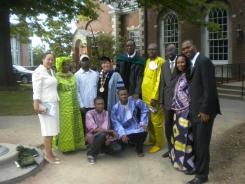 Senegalese Delegation, Pittsburgh, PA