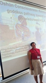 Presenting preliminary research on Black people experiencing homelessness in L.A.